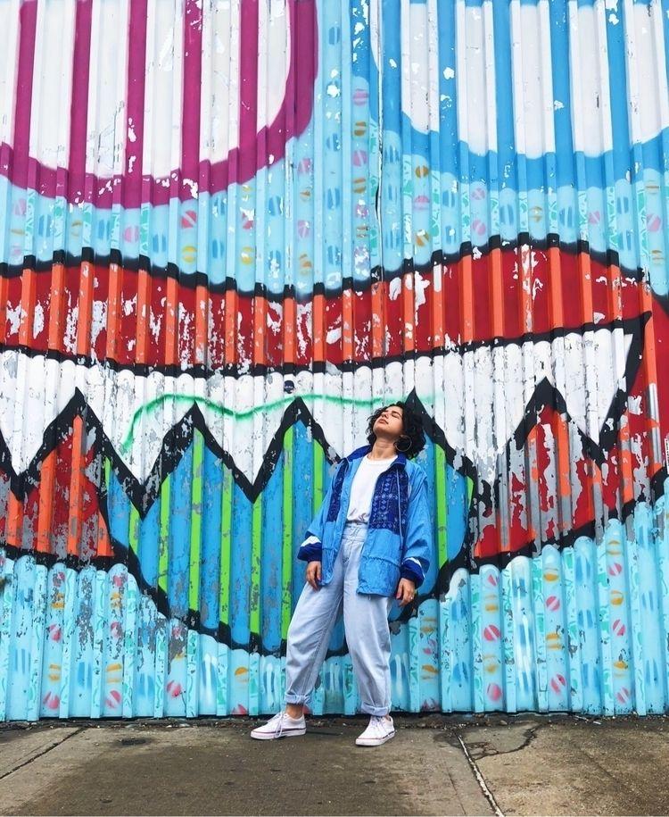 nyc, blue, streetart - novalee | ello