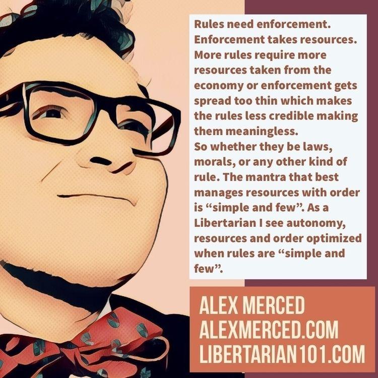 Rules enforcement. Enforcement  - alexmerced | ello