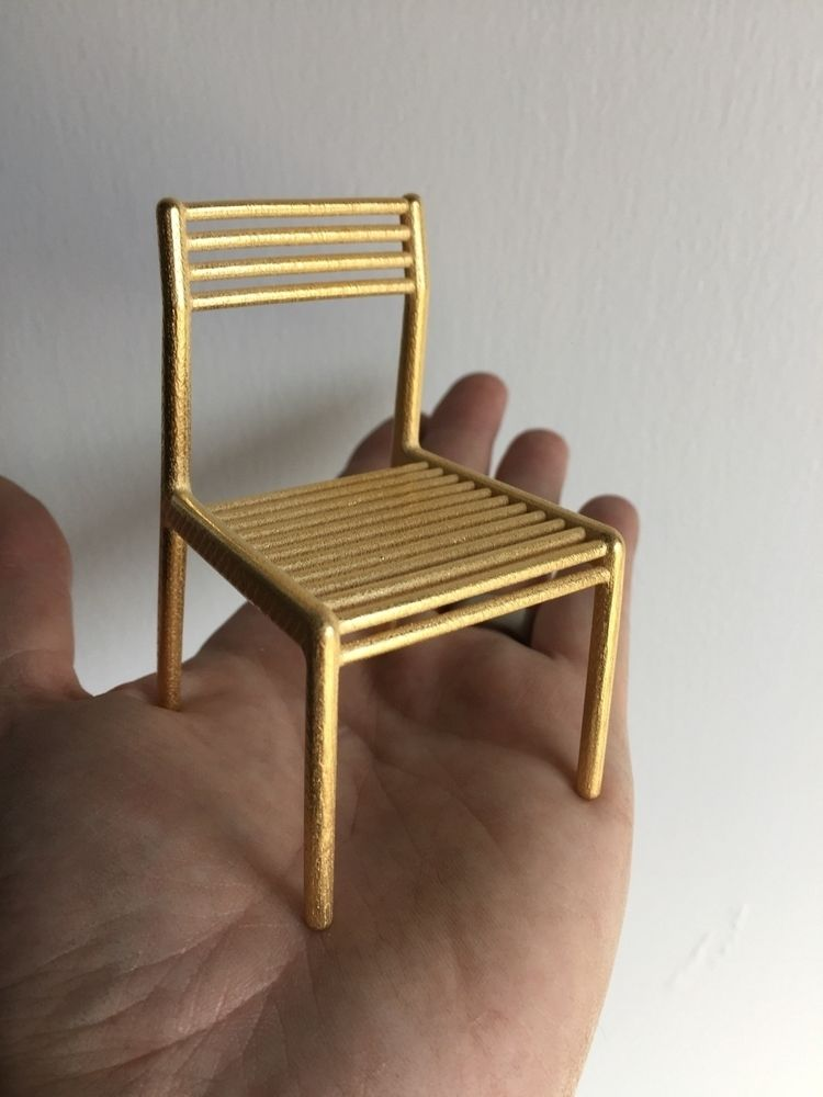 AD chair ~ 1:10 scale model, 3D - huw_mcconachy | ello