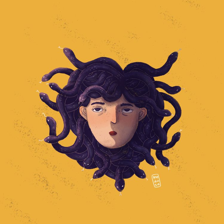 Medusa  - art, artist, artwork, illustration - esmedusa | ello