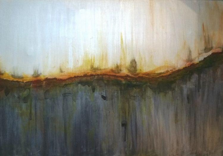 OXIDATION Acrylic canvas 100 cm - tmarcoantonio | ello