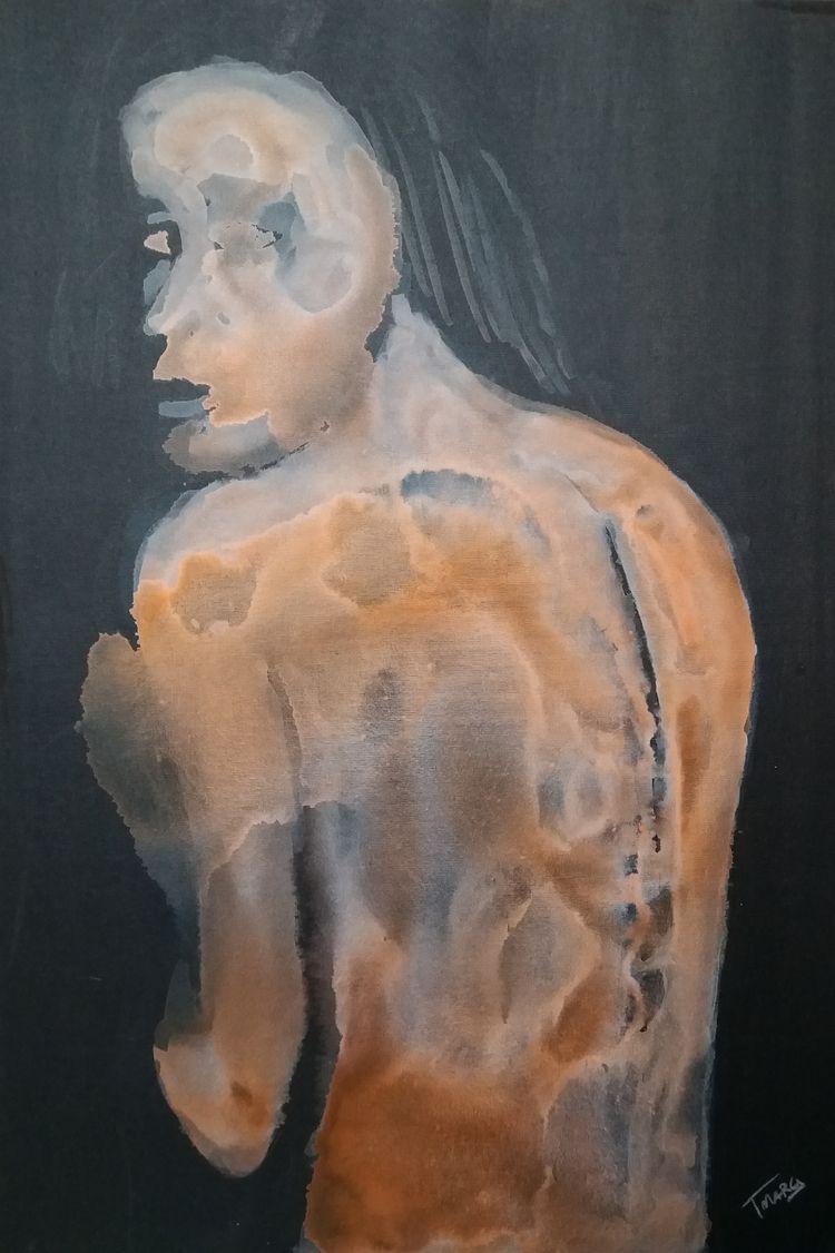 BROKEN SOUL Acrylic canvas 70 c - tmarcoantonio | ello