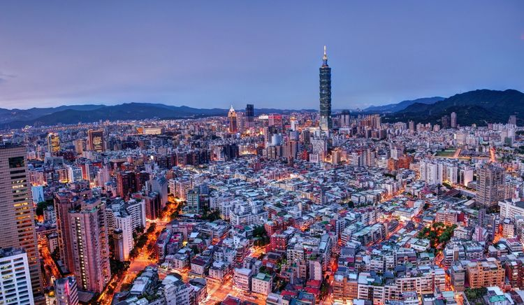 taiwan, taipei, city - marmeid | ello