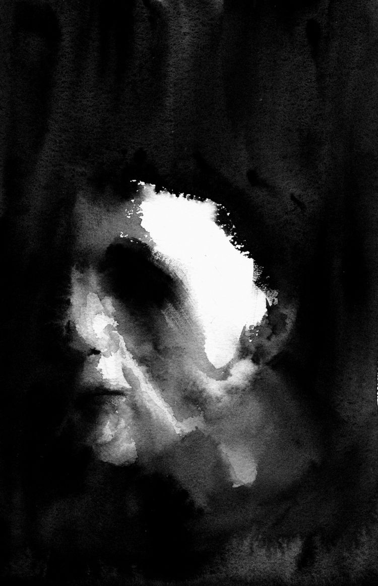 Halloween, shape returns - watercolor - pretopasin | ello