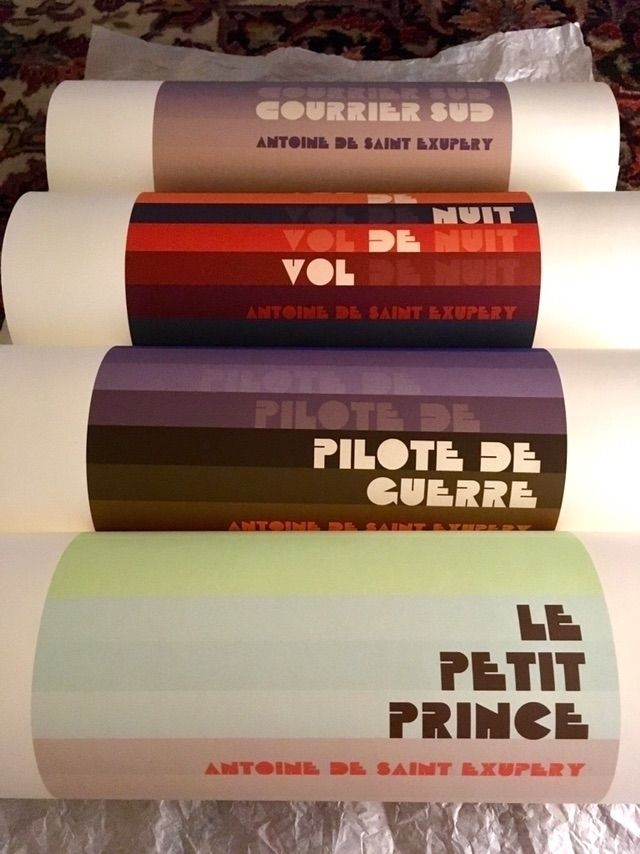 Saint Exupery book cover prints - gregsted | ello