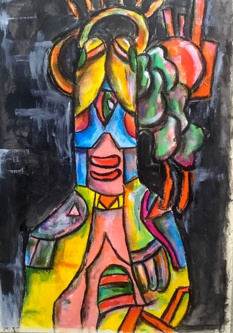 Painting series :copyright:️fak - bywillak | ello