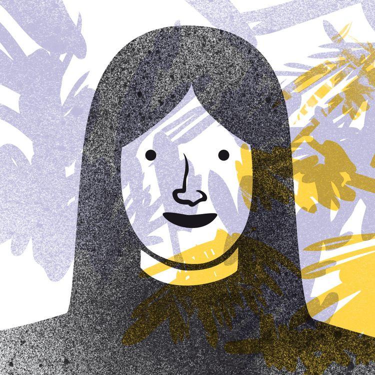 Personal work  - woman, illustration - gwendolineblosse | ello