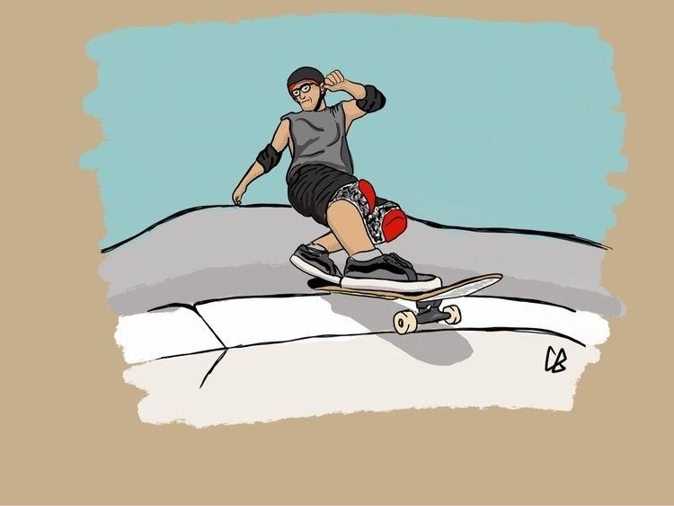Ryan Stewart - skateboarding, doodle - cliff-c-black | ello