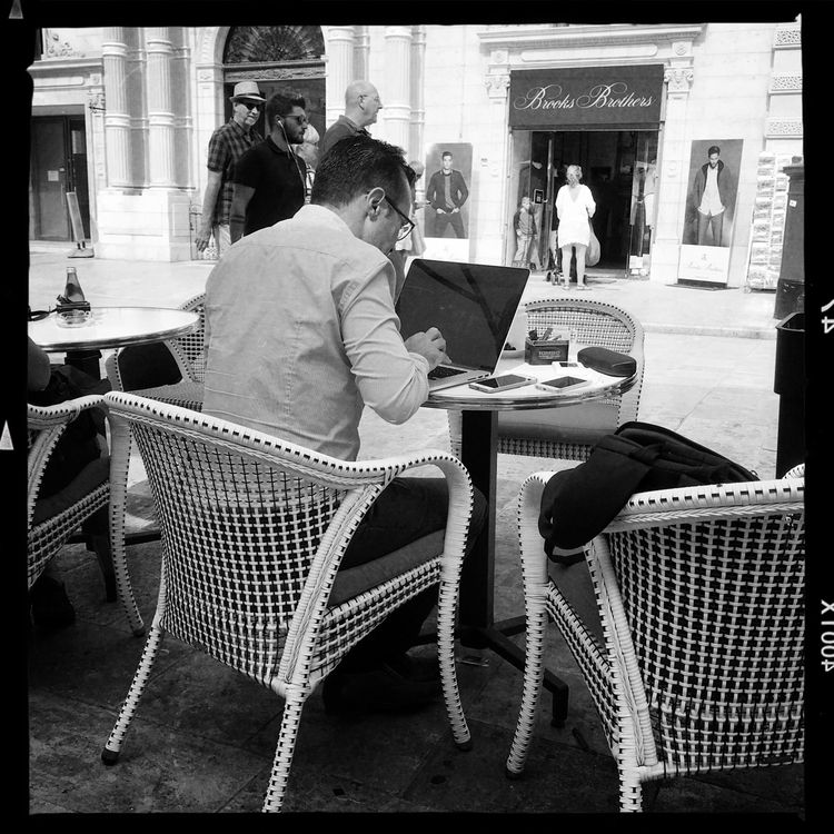 Checking email - streetphotography - paulgriffiths | ello