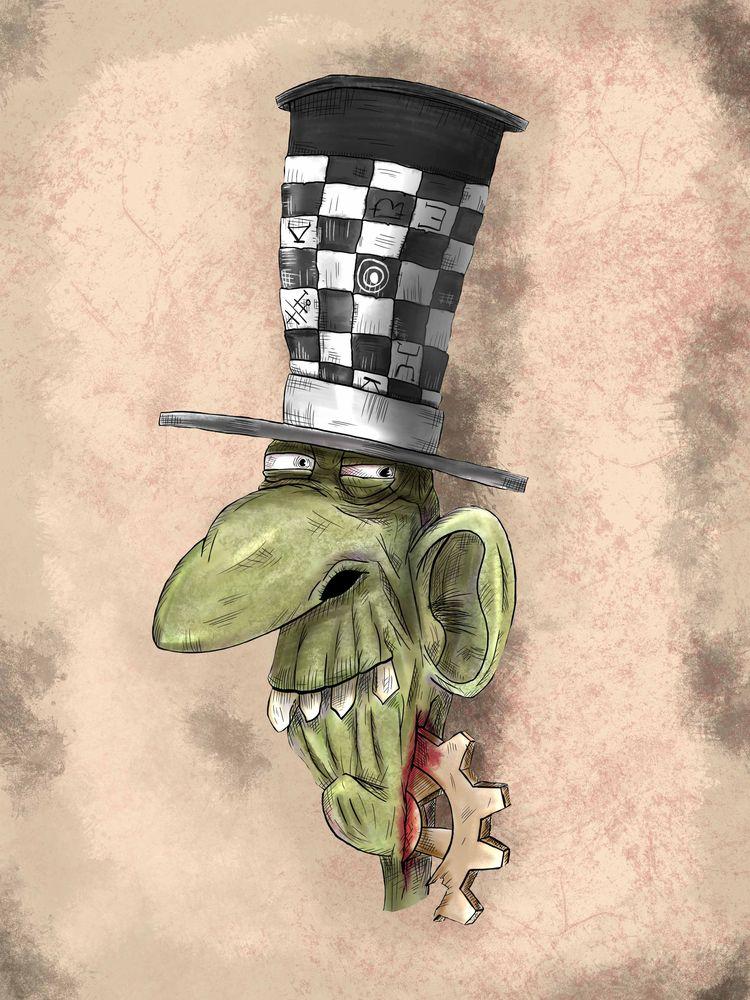 Mad Hatter American McGee games - detailedrandom | ello