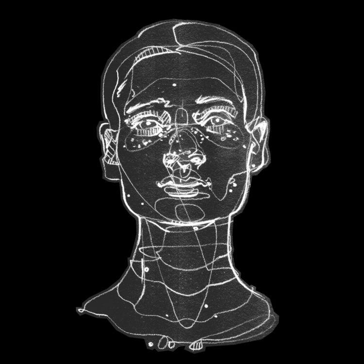Head study - elloart, portrait, lineart - jasonthielke | ello
