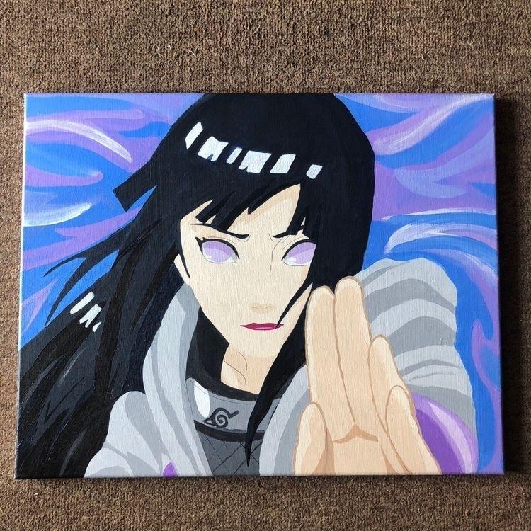 hinata, painting, animeart, anime - lvjust | ello