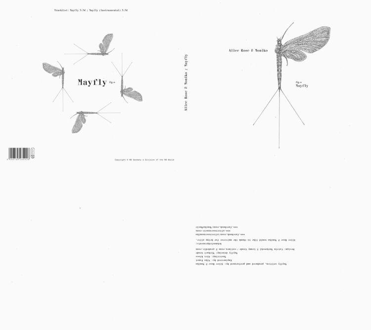 { Mayfly / music video [ cd cov - catinca | ello