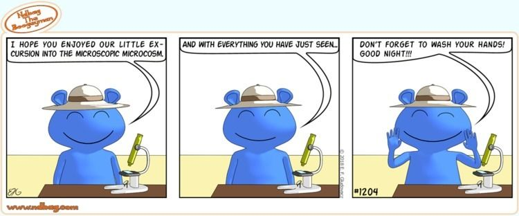 science, comic, cute - ndbag   ello