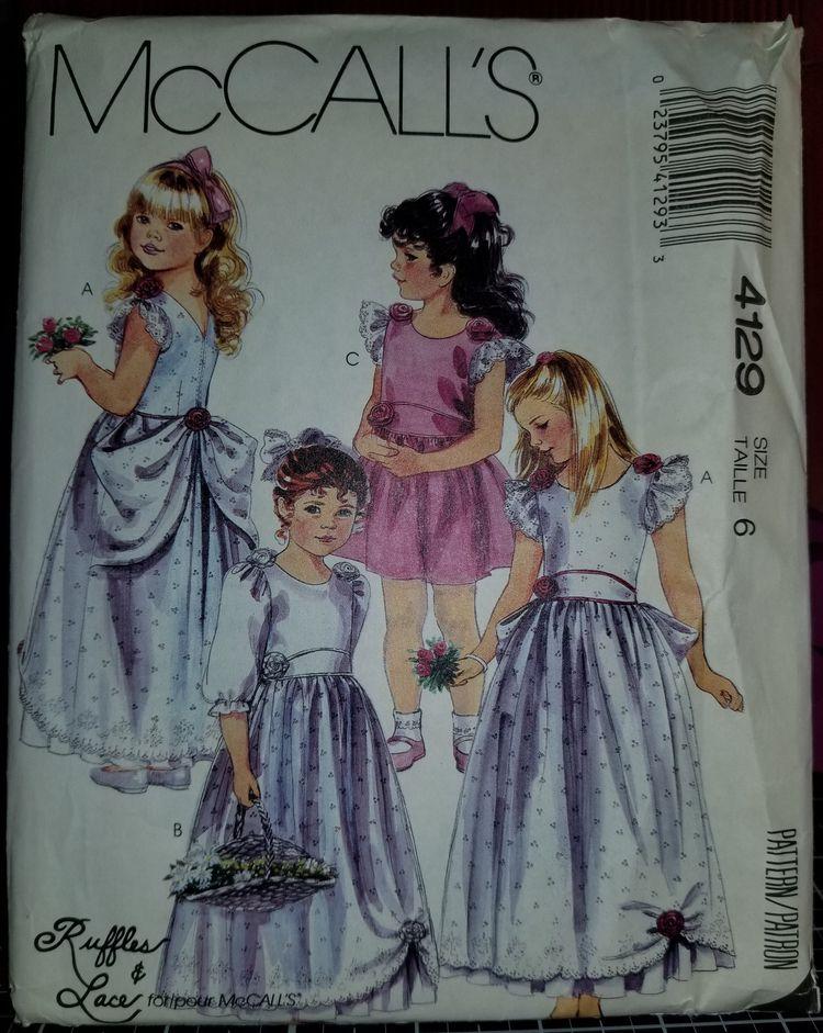 'McCalls 4129 Pattern Vintage C - sharpharmade | ello