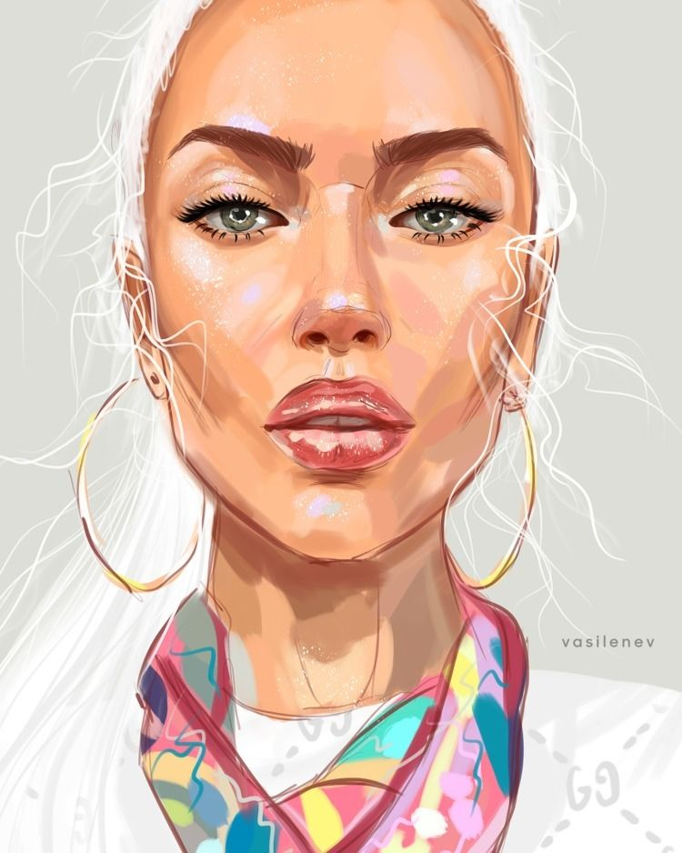 Instagram: • diamond girl Tita  - vasilenevart | ello