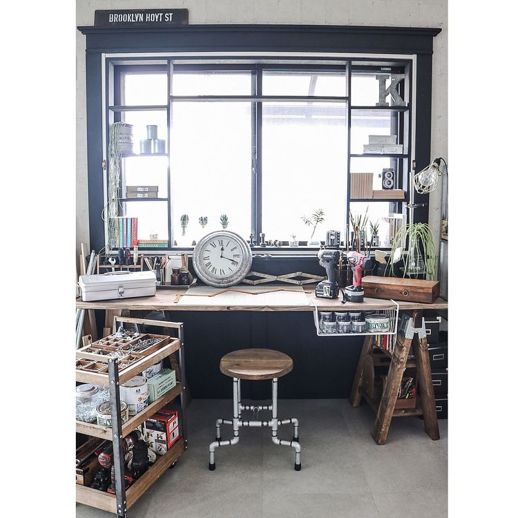 desk, office, studio, workspace - decorkiki | ello