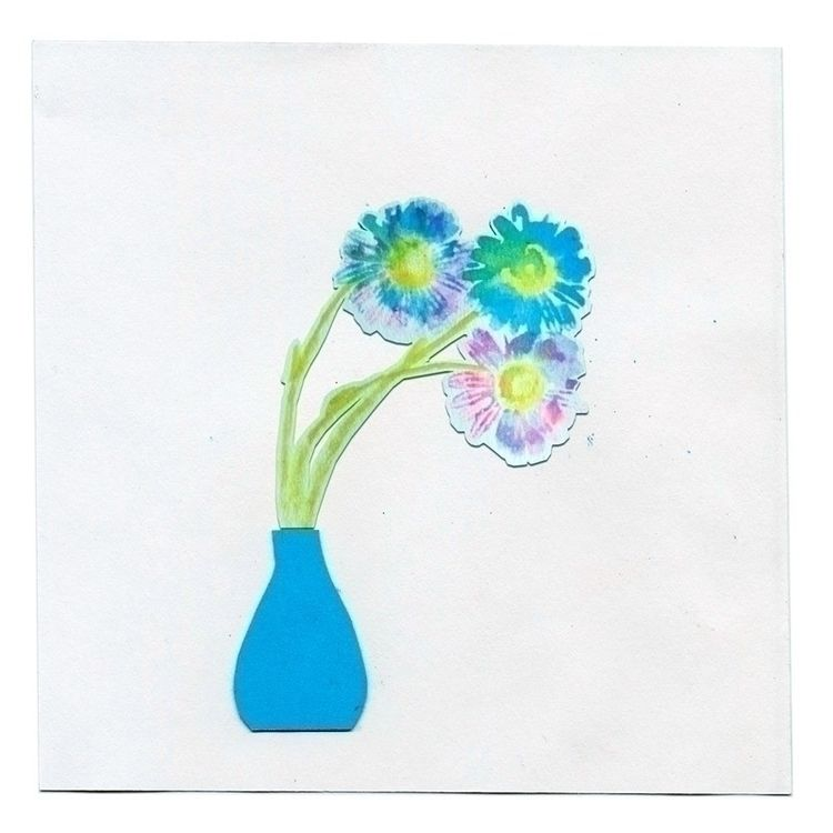 3 flowers vases online graphic  - a-mira | ello