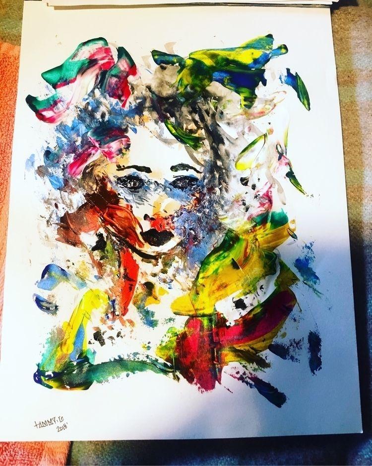 messing :zap:️:cherry_blossom - paint - tammygissell | ello
