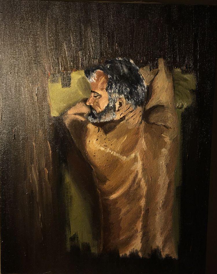 love - art, portrait, contemporaryart - artbrunom | ello