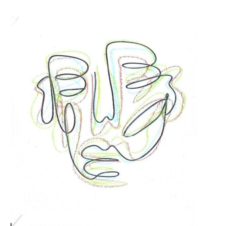 U738 paper, marker, oil pastel  - varls   ello
