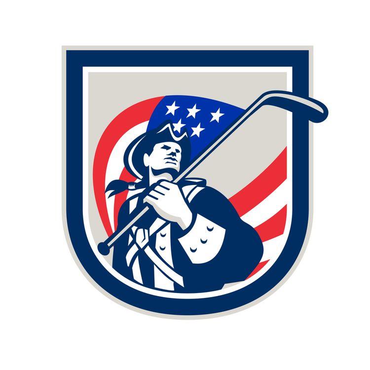 American Patriot Ice Hockey Shi - patrimonio | ello