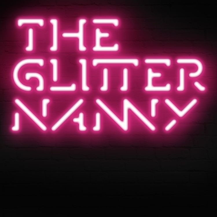 Logo Proposal Glitter Nanny.  - neon - jvbdesign | ello