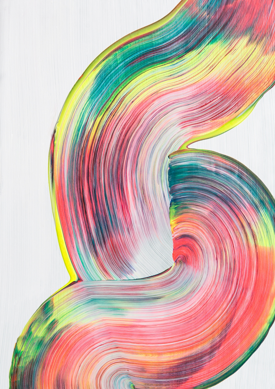 Swirl, 2017 - mentalhealth, abstractlandscape - itsstefa | ello