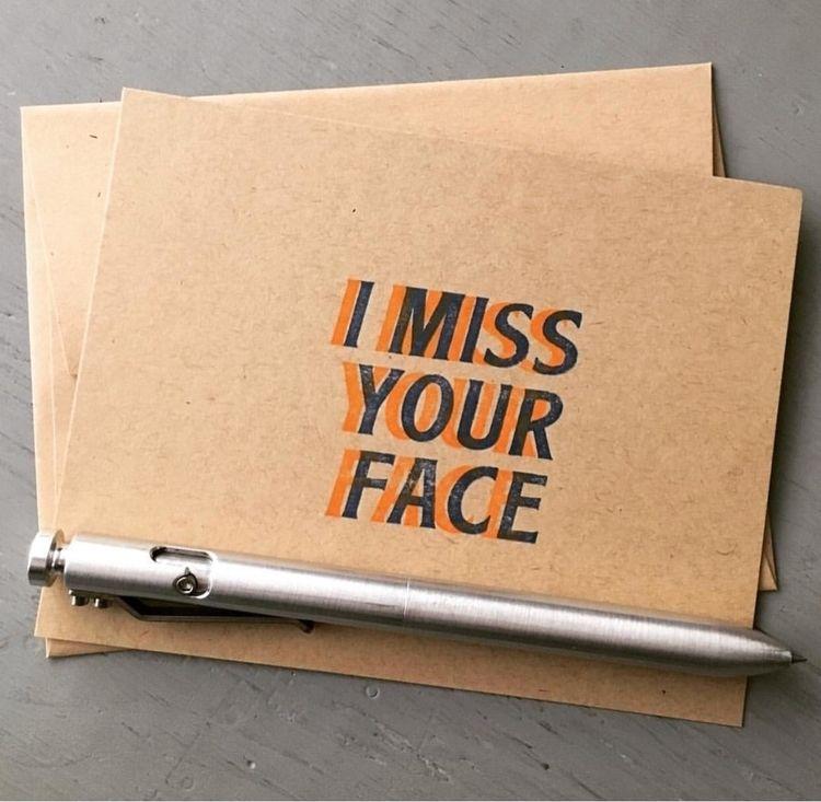 missed | - letterpress, stationery - sheasmith | ello