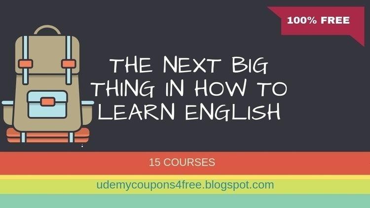 Big Learn English? Udemy Course - jawadakhtar | ello
