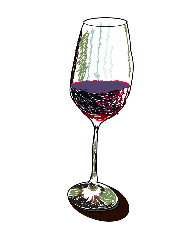 Copa de vino tinto/ Cup red win - j_r_s_ | ello