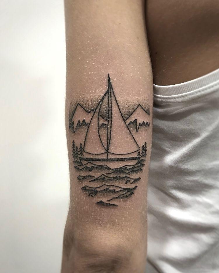2018:09 - illustration, art, tattoo - nico_tattoolandes | ello