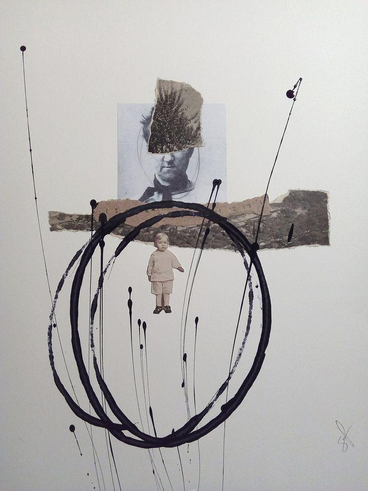 art, landscape, face, kid, ink - sanchezisdead | ello
