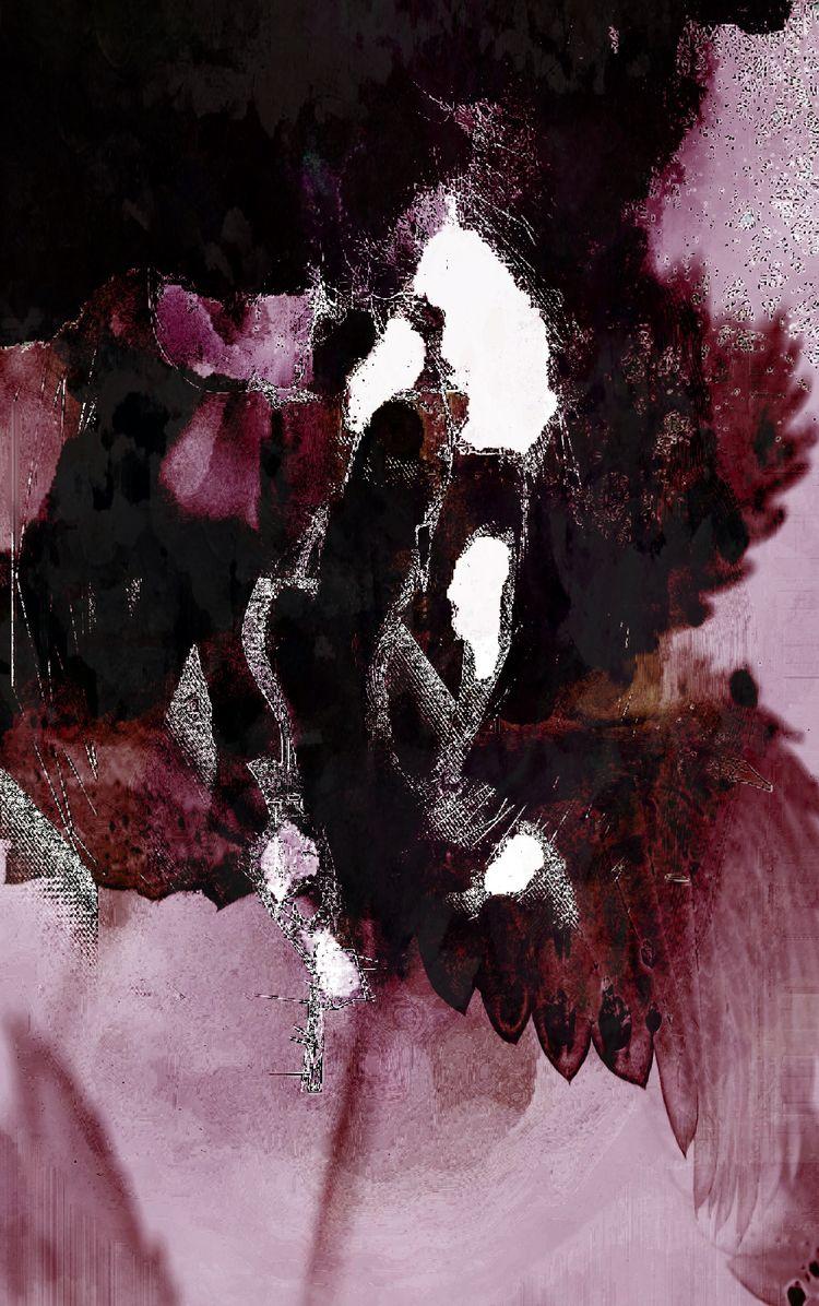 Abstract Bud dreaming - dizwhi | ello