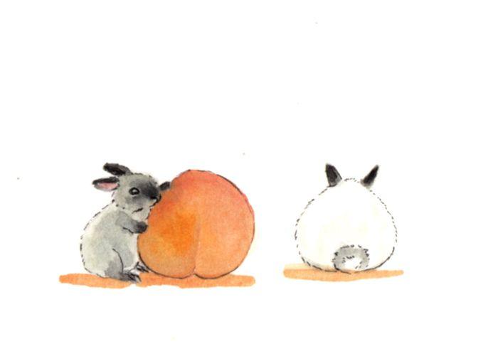 Day 4 Inktober - Peach - flpinktober - j0eyg1rl | ello