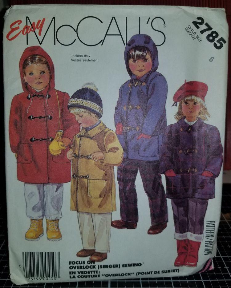 'McCalls 2785 Pattern Vintage C - sharpharmade | ello