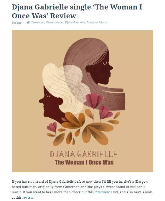 Djana Gabrielle single Woman Re - offtherecordblog | ello