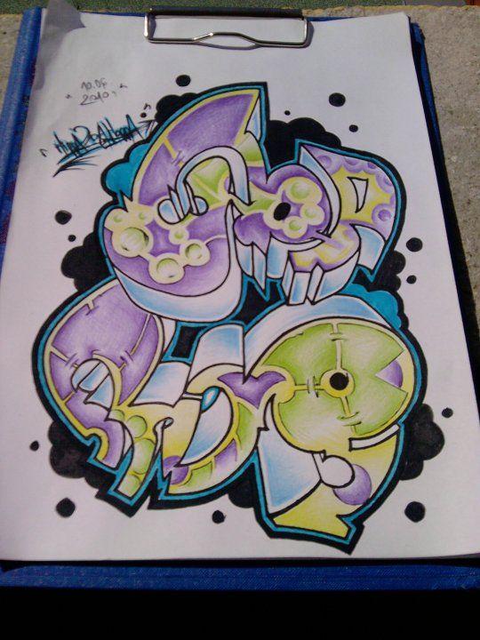 frog, graffiti, art, pencil, drawing - wuspirit   ello