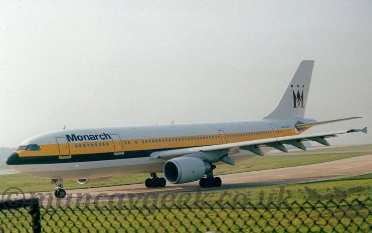 Airbus A300, Monarch Airlines.  - mancavgeek | ello
