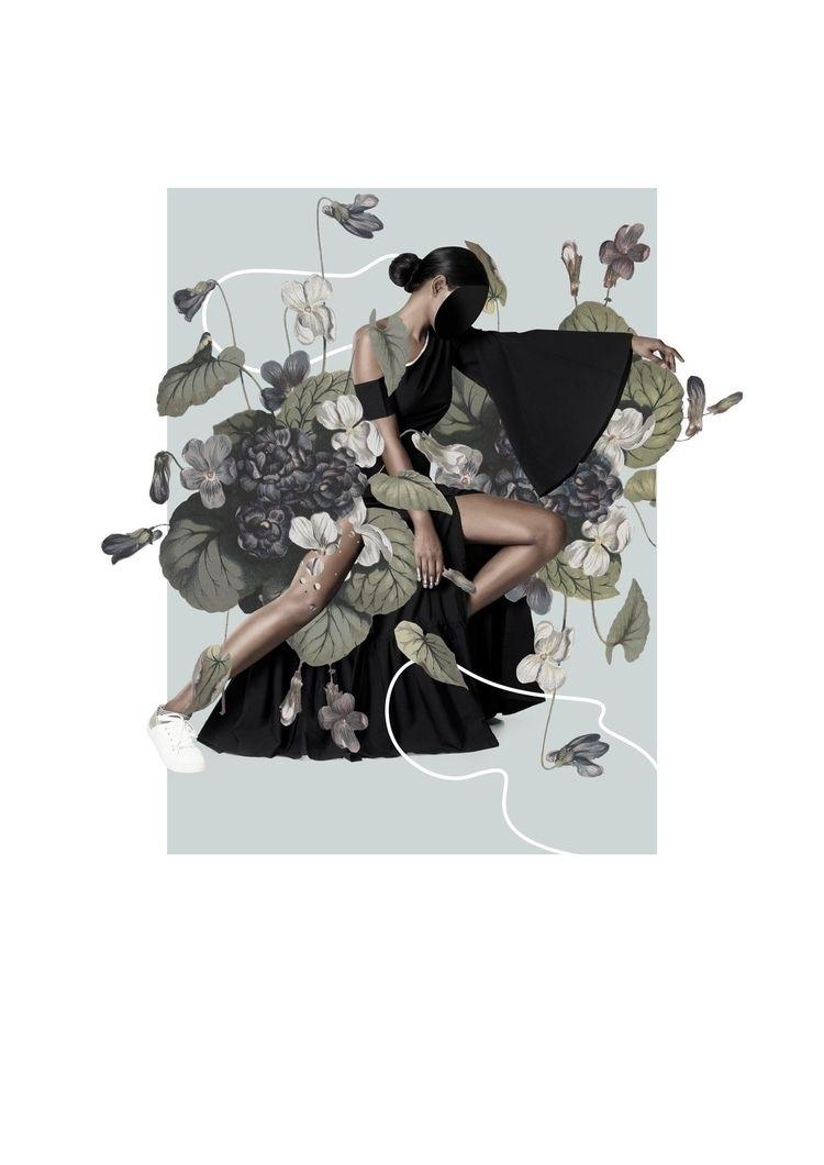 collage, digitalcollage, botanical - olaszatk | ello
