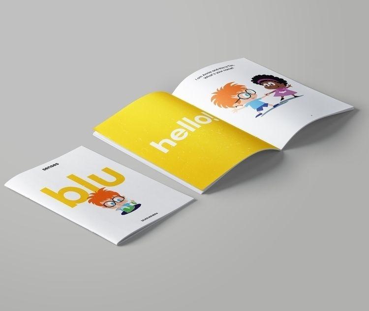 Editorial design book learning  - marcosilfa | ello