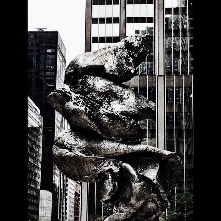 nyc, sculpture, photography - robotswan | ello