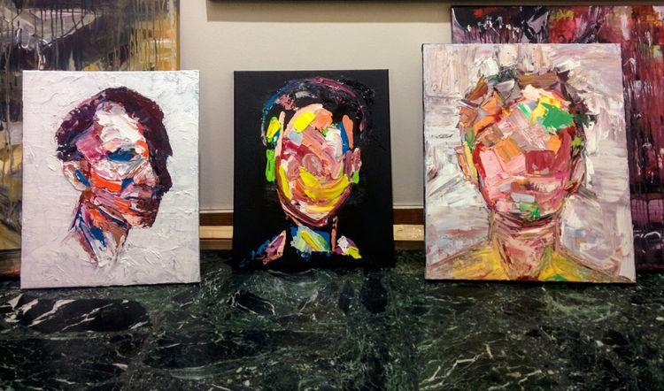 oil studies, 40*50xm, 50*60cm - contemporary - jotzomakas | ello