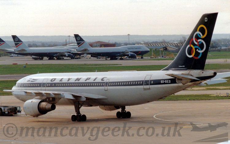 SX-BED, Airbus A300B4-103, Olym - mancavgeek | ello