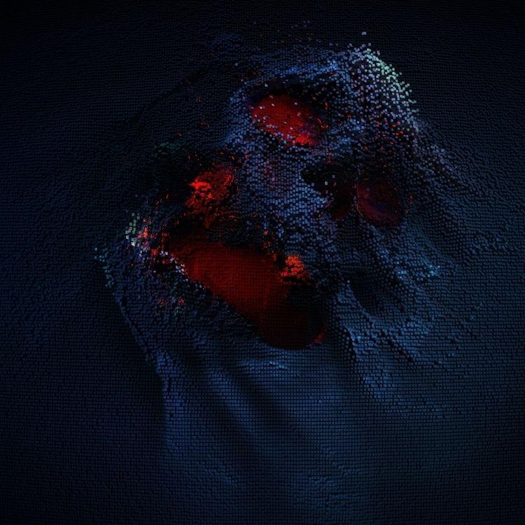 Skull 3 (3D illustration - skull - rony_azurdia | ello