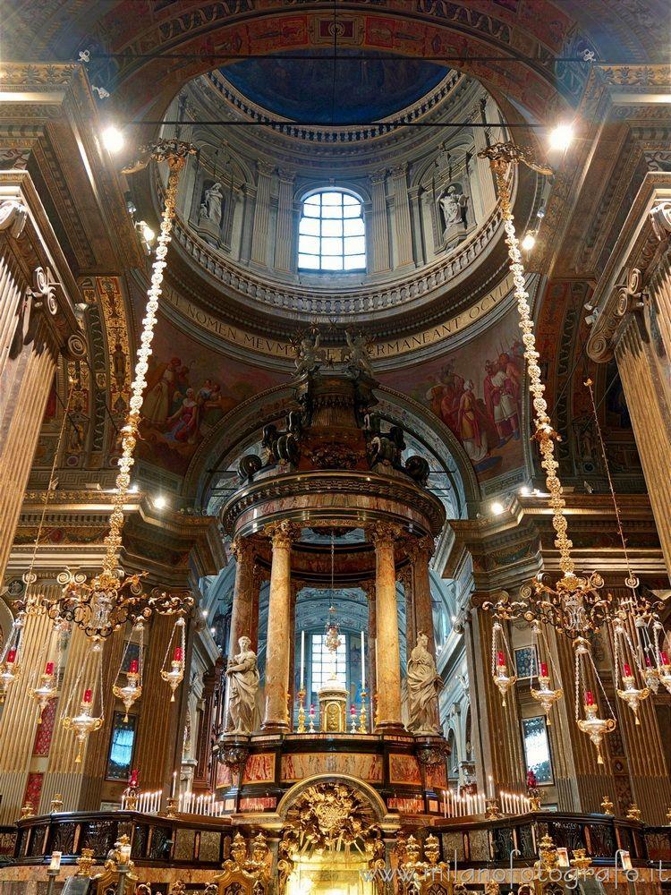 ( ): Aedicule main altar Carava - milanofotografo | ello