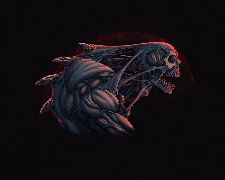 Deformed Creature - Illustration - rony_azurdia   ello