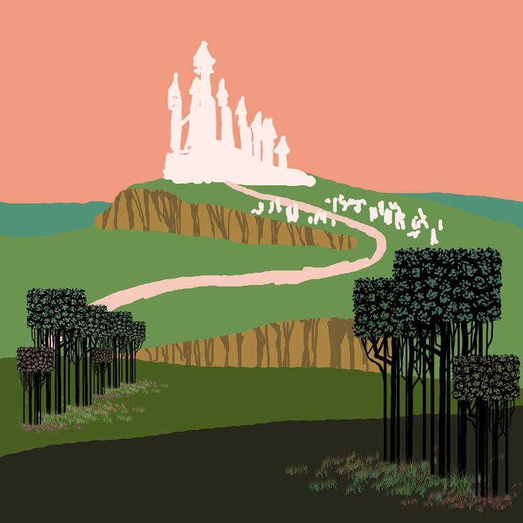 enter dream. Dream Castle, shin - kerry-symetria | ello