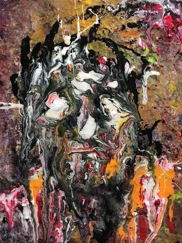 newest painting, hope enjoy - acrylic - kr-lebeaulemieux | ello