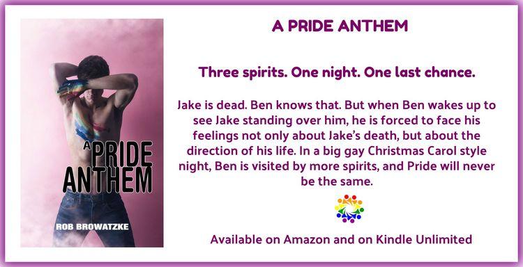 BOOK BLAST Pride Anthem Rob Bro - lilyg1 | ello